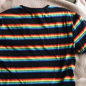 6a9664a5dfa883 H M Tops - H M Pride Collection Striped Rainbow Shirt